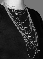 Necklace Size Chart - Jewelry By Bianca
